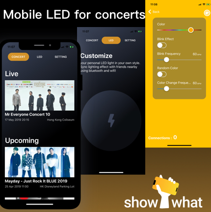 ShowWhat - Mobile LED for Concerts